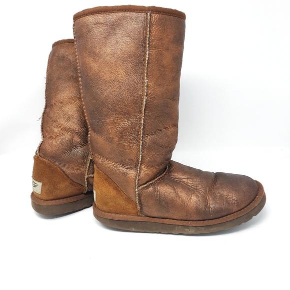 1f018f2d408 UGG Australia | Classic Tall Metallic Boots Size 7